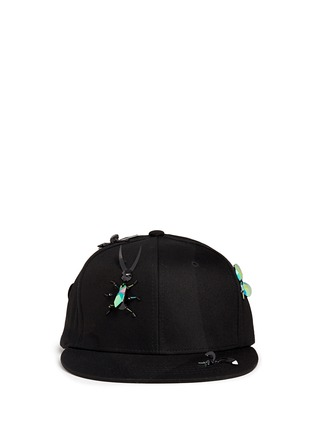 Main View - Click To Enlarge - Piers Atkinson - Embellished bug baseball cap