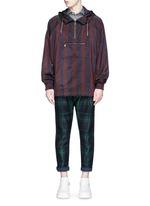 Tartan plaid pleated pants
