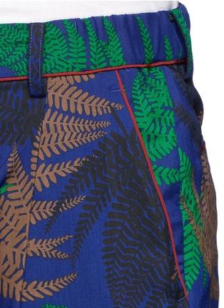 Detail View - Click To Enlarge - Sacai - Botanical print pyjama pants
