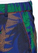 Botanical print pyjama pants