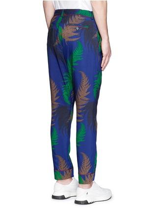 Back View - Click To Enlarge - Sacai - Botanical print pyjama pants