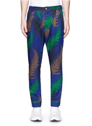 Main View - Click To Enlarge - Sacai - Botanical print pyjama pants