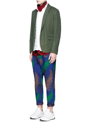 Figure View - Click To Enlarge - Sacai - Botanical print pyjama pants