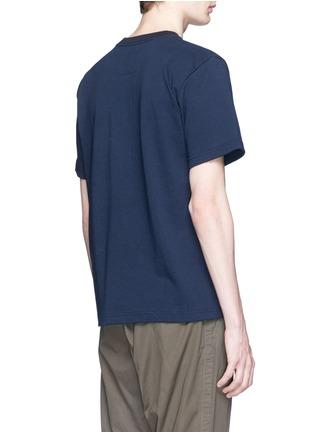 Sacai-'Paradise Garage' print cotton T-shirt
