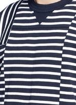 Patchwork stripe T-shirt