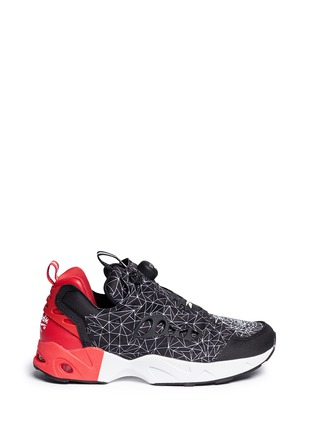 Reebok-'InstaPump Fury Road CNY' vector print sneakers