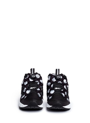 Front View - Click To Enlarge - Reebok - 'Instapump Fury Road SG' slip-on sneakers