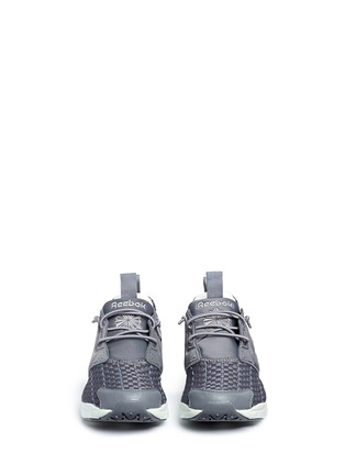 Front View - Click To Enlarge - Reebok - 'FuryLite New' basketweave sneakers