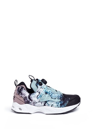 Main View - Click To Enlarge - Reebok - 'Instapump Fury Road SG' slip-on sneakers