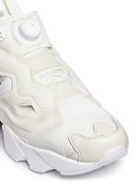 'InstaPump Fury Gallery' slip-on sneakers