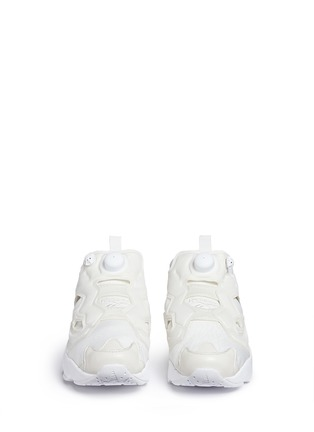 Front View - Click To Enlarge - Reebok - 'InstaPump Fury Gallery' slip-on sneakers