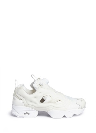 Main View - Click To Enlarge - Reebok - 'InstaPump Fury Gallery' slip-on sneakers