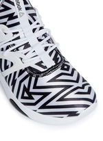 'Hayasu' graphic print sneakers
