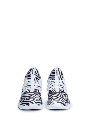 Front View - Click To Enlarge - Reebok - 'Hayasu' graphic print sneakers