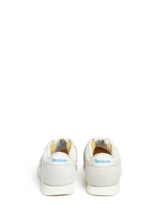 Back View - Click To Enlarge - Reebok - 'CL Nylon Vintage' suede trim sneakers