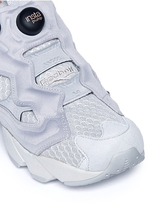 Detail View - Click To Enlarge - Reebok - 'Instapump Fury CLSHX' slip-on sneakers