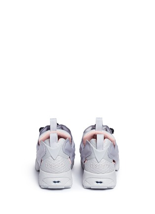 Back View - Click To Enlarge - Reebok - 'Instapump Fury CLSHX' slip-on sneakers