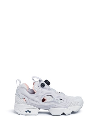 Main View - Click To Enlarge - Reebok - 'Instapump Fury CLSHX' slip-on sneakers