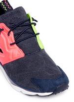 'Furylite Asymmetrical' contrast panel sneakers