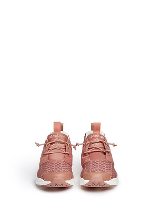 Front View - Click To Enlarge - Reebok - 'FuryLite New' basketweave sneakers
