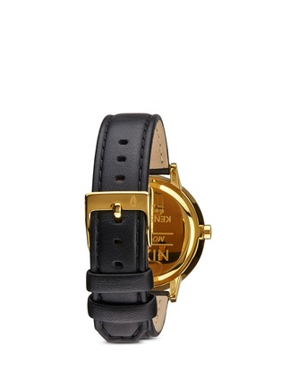 Figure View - Click To Enlarge - Nixon - 'The Kensington Leather' watch