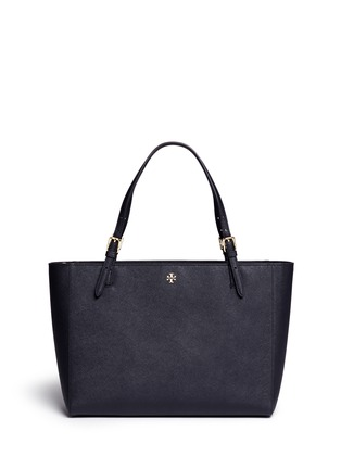 Main View - Click To Enlarge - Tory Burch - York' leather buckle tote