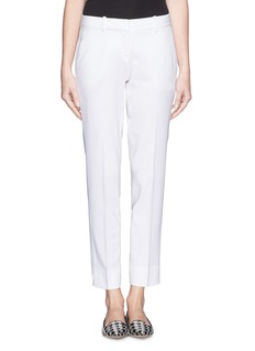 THEORY 'Testra 2S' single pleat cropped pants