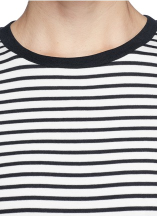 Detail View - Click To Enlarge - Theory - 'Cherry' stripe T-shirt dress