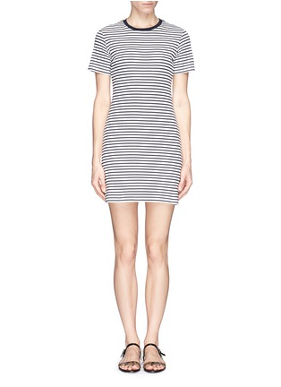 Main View - Click To Enlarge - Theory - 'Cherry' stripe T-shirt dress