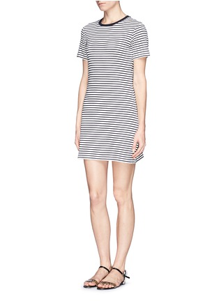 Figure View - Click To Enlarge - Theory - 'Cherry' stripe T-shirt dress