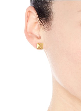 Figure View - Click To Enlarge - Valentino - Rockstud earrings