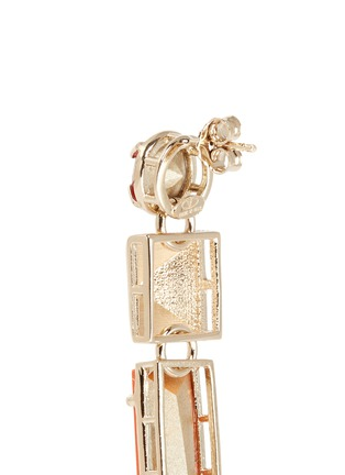 Detail View - Click To Enlarge - Valentino - Stud strass earrings