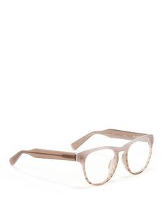 3.1 PHILLIP LIMRound frame plastic optical glasses
