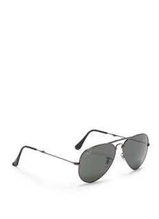 RAY-BAN 'Aviator Folding' wire sunglasses