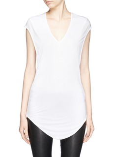 HELMUT LANG Twist back jersey tank top