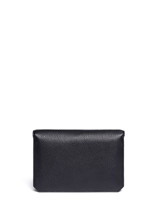 Back View - Click To Enlarge - Alexander Wang  - Prisma envelope leather clutch