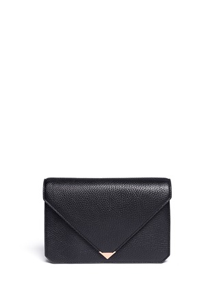 Main View - Click To Enlarge - Alexander Wang  - Prisma envelope leather clutch