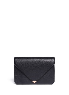 ALEXANDER WANG  Prisma envelope leather clutch