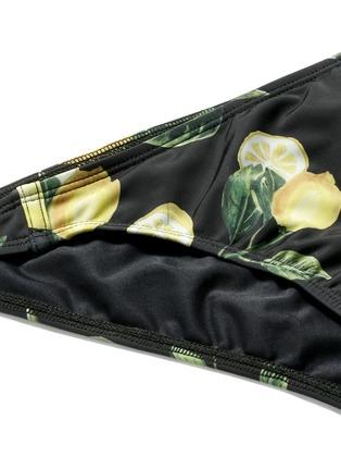 Detail View - Click To Enlarge - Beth Richards - 'Naomi' lemon print bikini bottoms