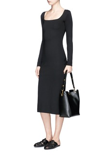The Row 'Xenia' long sleeve bodycon neoprene dress