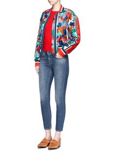 Emilio Pucci'Bermuda Piscina' silk twill bomber jacket