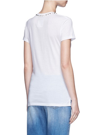 Back View - Click To Enlarge - Valentino - 'Rockstud Untitled 09' jersey T-shirt