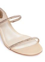'Snake' strass pavé spring coil sandals