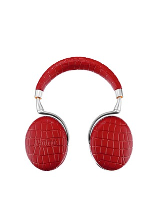 - Parrot - Zik 3 croc embossed wireless headphones