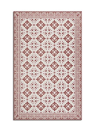 BEIJA FLOR - Flor de Lis dining table floor mat