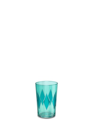 KHMISSA MOROCCO DESIGN-Diamond tea glass