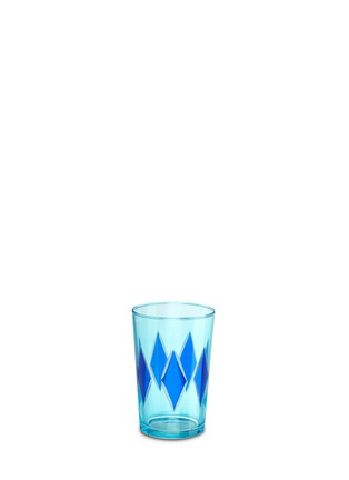 Main View - Click To Enlarge - KHMISSA MOROCCO DESIGN - Diamond tea glass