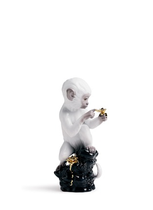 Main View - Click To Enlarge - LLADRO - Curiosity monkey sculpture