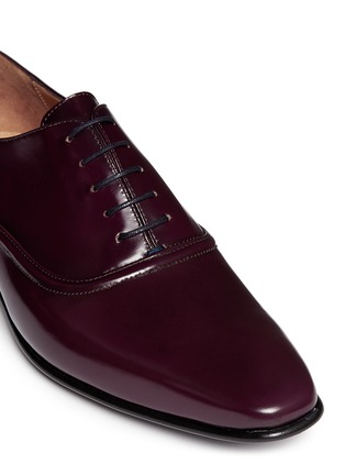 Paul Smith - Starling' spazzolato leather Oxfords