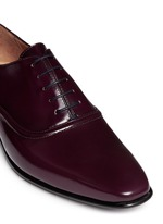 Starling' spazzolato leather Oxfords